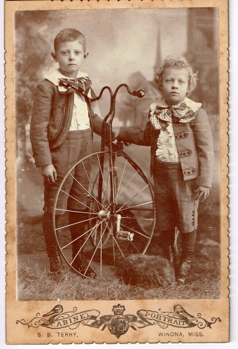Harvey and Eldridge Hurt - children of Addie and Walter Hurt